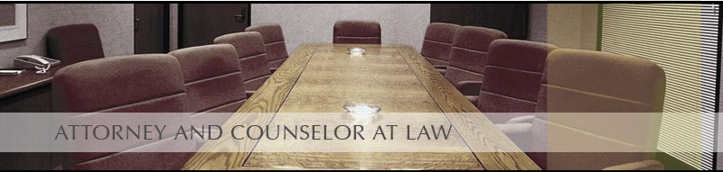 Attorney and Counselor At Law